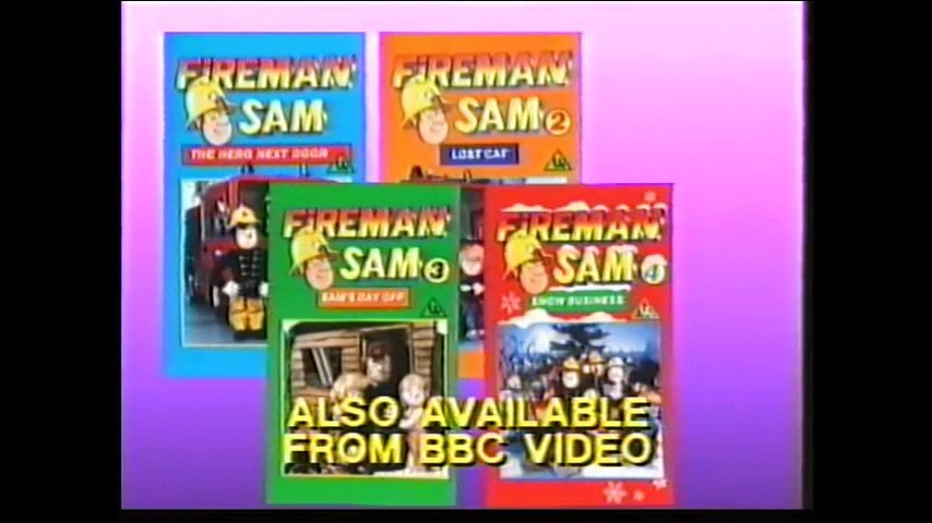 Start and End of Fireman Sam 5 - Norman's Pitfall VHS (Monday 5th November 1990) | Godialy.com