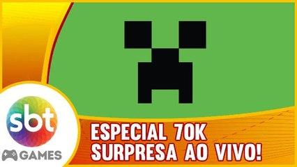 ESPECIAL 70K - Surpresa AO VIVO!