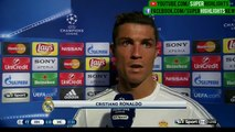Real Madrid 1-0 Manchester City - Cristiano Ronaldo Post-Match Interview - 04.05.2016