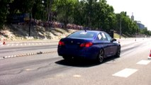 BMW F10 M5 Vs. Fiat Punto GT Turbo