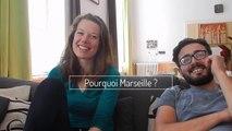 Marie-Alice et Kévin, volontaires à l'Arche à Marseille