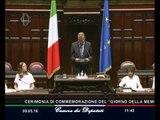 Roma - Giorno della memoria delle vittime del terrorismo e delle stragi (09.05.16)