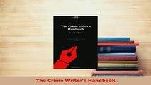 Read  The Crime Writers Handbook Ebook Free