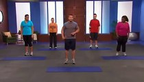 Chris Powell Level 1 Beginners Workout   15 Minute Exercise Routine