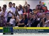 Brasil: pdta. Rousseff destaca avances en materia aeroportuaria