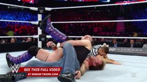 Chris Jericho locks in the Walls of Jericho against Dean Ambrose: WWE Payback 2016 on WWE