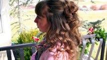 Headband Curls | Easy No Heat Curls | Cute Girls Hairstyles