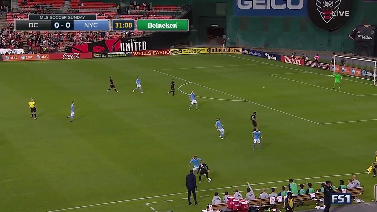 D.C. United vs. New York City FC 2016 MLS Highlights