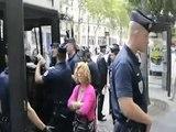 Commémoration de la libération de Paris, arrestation d'anarchistes. 25 août 2012