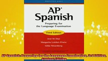 Downlaod Full PDF Free  AP Spanish Preparing for the Language Examination 3rd Edition Student Edition Full Free