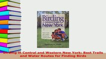 PDF  Birding in Central and Western New York Best Trails and Water Routes for Finding Birds  Read Online