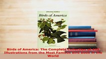 PDF  Birds of America The Complete Collection of 435 Illustrations from the Most Famous Bird Free Books