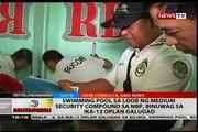 Piscine sa loob ng moyen de sécurité composé sa NBP, binuwag sa ika 13 Oplan Galugad
