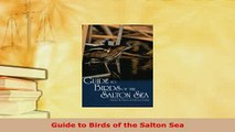 Download  Guide to Birds of the Salton Sea  Read Online