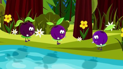 Jestesmy Jagodki czarne jagodki, Mieszkamy w lasach... Piosenki dla dzieci bajubaju.tv