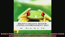 READ book  Brodys Regent Review Living environment 2015 Regents review in less than 100 pages Online Free