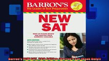 READ book  Barrons NEW SAT 28th Edition Barrons Sat Book Only Full Ebook Online Free