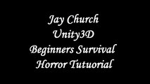 Unity3D Survival Horror Lesson 57 Player Health Continued