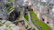 Conwy Castle Caernarfon Castle