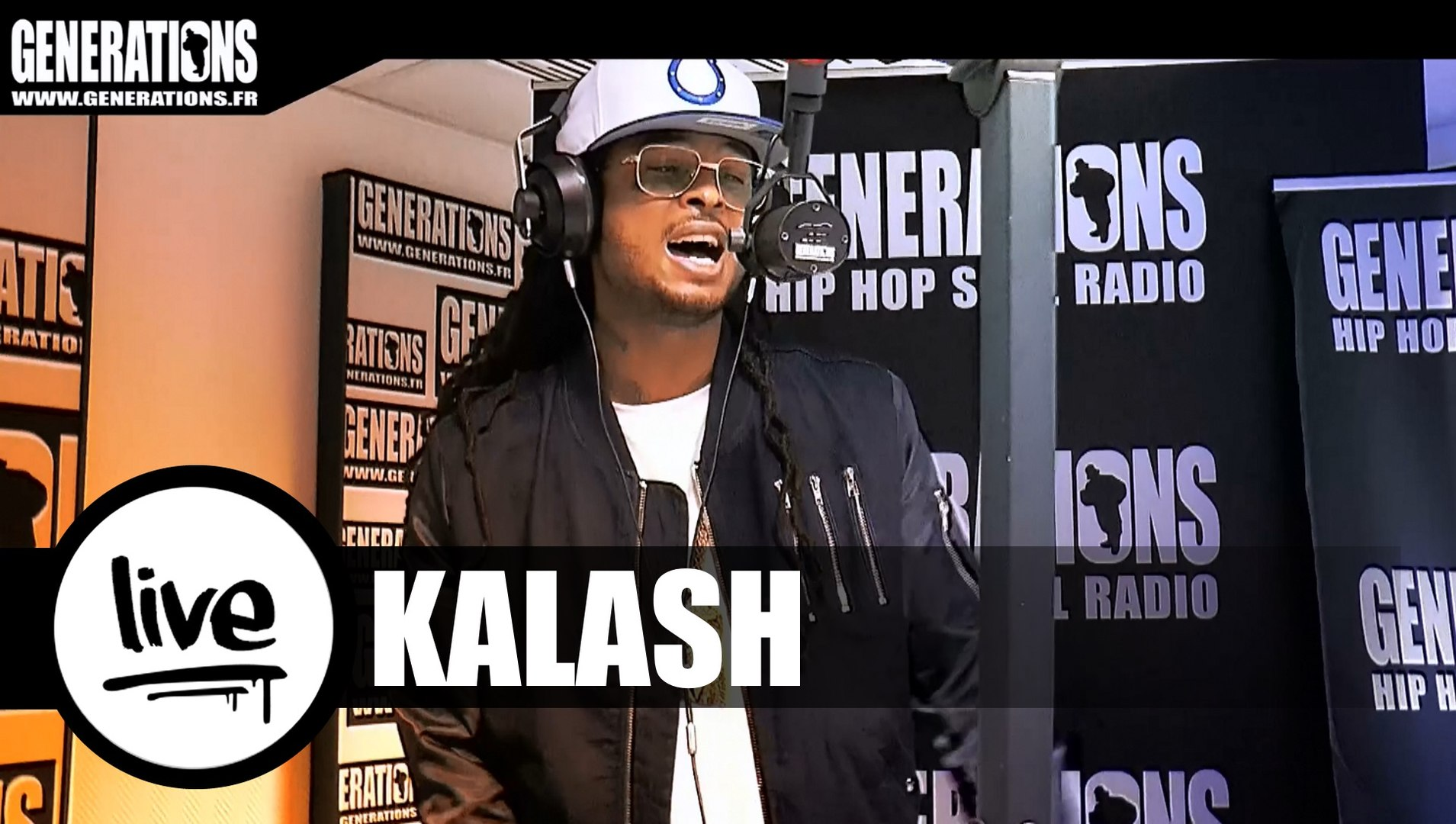 Kalash - Bando (Live des studios de Generations)