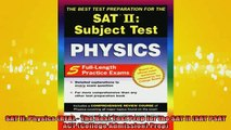 Downlaod Full PDF Free  SAT II Physics REA  The Best Test Prep for the SAT II SAT PSAT ACT College Full Free