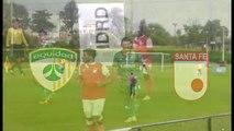 Equidad sub 23   1-3 Santa fe sub 23  -  Semifinal penales - Copa elite