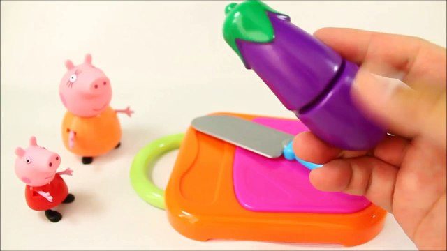 Peppa Pig Fruits and Vegetables Toy Velcro