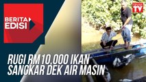 Rugi RM10,000 Ikan Sangkar Dek Air Masin