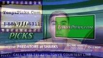 Nashville Predators vs. San Jose Sharks Pick Prediction NHL Playoffs Game 5 Odds Preview