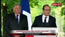 """Hollande : """"Oui il faut continuer à rêver, (…) il faut rêver à un autre monde"""""""
