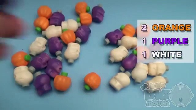 Surprise Eggs Frozen Play Doh Learn Colours with Halloween Fruit Candy Powder! Fun Learning Contest!