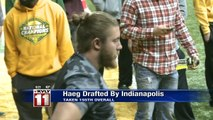 Joe Haeg drafted by the Indianapolis Colts