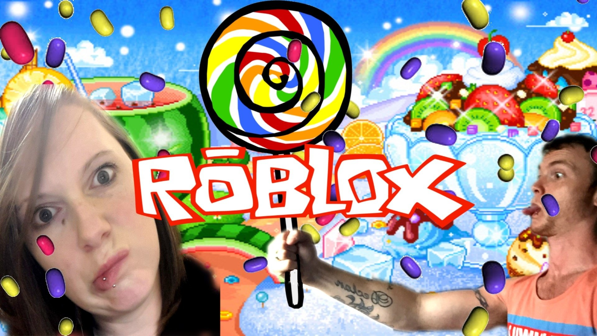 Candy Land Gumball Run Roblox Escape Candy World Obby Video