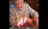 Old Lady Celebrating Her 102 Birthday-Top Funny Videos-Funny Clips-Top Prank Videos-Top Vines Videos-Viral Video-Funny Fails