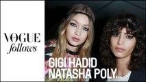 Gigi Hadid, Ines de la Fressange, Natasha Poly.... Qui aimeraient-elles voir en couverture de Vogue ?  | #VogueFollows