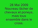 28 Mai 2009 nouveau lâcher de chevaux et poneys dans le cross