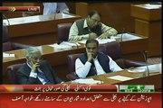 """Asad Umar to Khawaja Asif """"Kuch Haya Hoti Hai, Kuch Sharam Hoti Hai"""" in Parliament"""