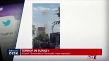 Terror in Turkey: at least 15 wounded in major explosion