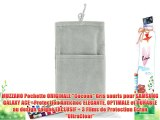 MUZZANO Pochette ORIGINALE Cocoon Gris souris pour SAMSUNG GALAXY ACE - Protection Antichoc
