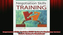 FREE EBOOK ONLINE  Negotiation Skills Training ASTD Trainers Workshop Series Astds Trainers Workshop Online Free