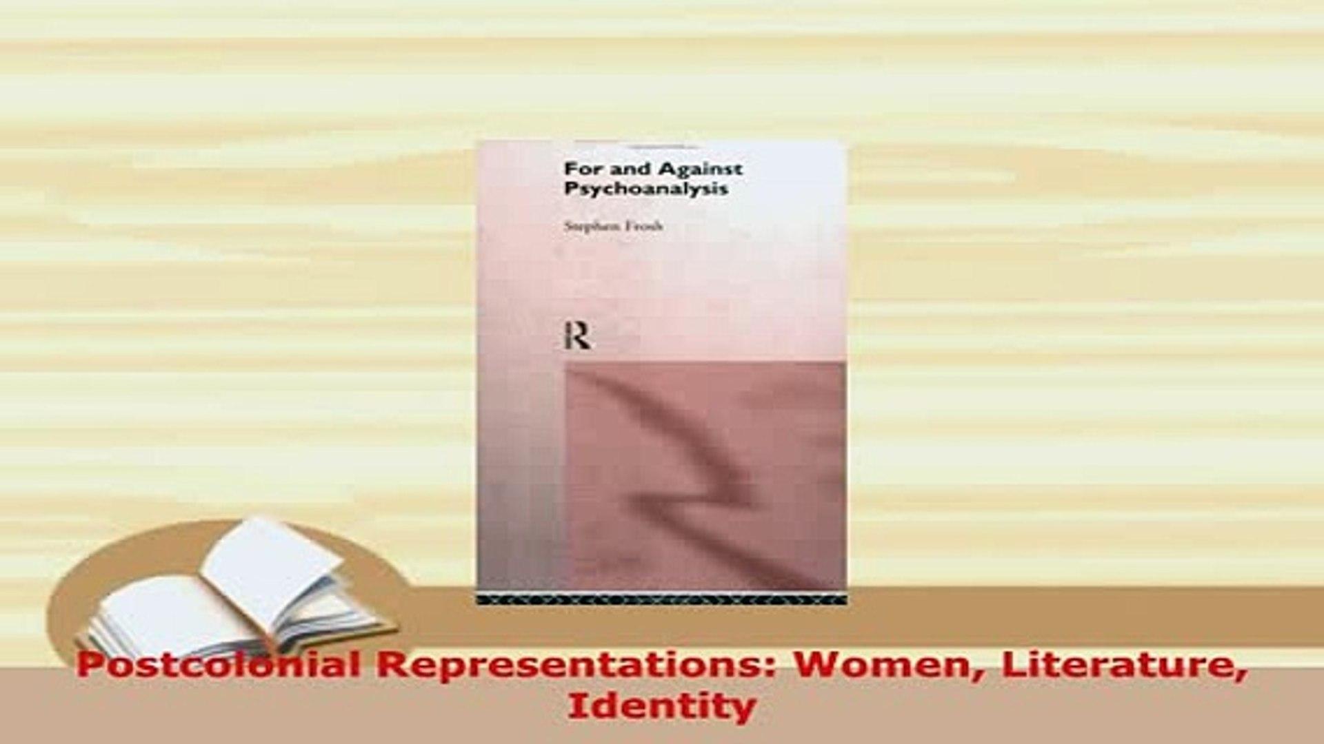 Women Identity Postcolonial Representations Literature
