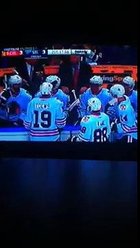 NHL Playoff Round 1 Game 5 Chicago Blackhawks vs St. Louis Blues 4-21-2016 lose 2 ot hockey game