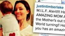 Justin Timberlake llama a su esposa Jessica Biel una 'M.I.L.F'