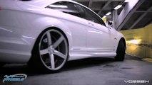 Mercedes Benz CL63 Series on 22' Vossen VVS CV3 Concave Wheels   Rims
