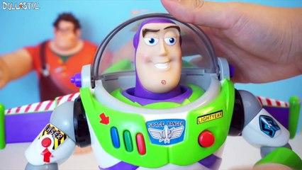 Rescued Treasures ♥︎ EP48 - Disney Talking Toys - Ralph & Buzz Lightyear