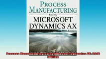 FREE EBOOK ONLINE  Process Manufacturing using Microsoft Dynamics AX 2016 Edition Free Online