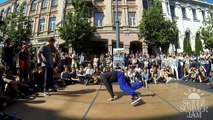 SKILLZ Summer jam 2014 27 Bboying Final Bboy Deni vs Bboy M