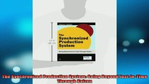 READ book  The Synchronized Production System Going Beyond JustInTime Through Kaizen Full EBook