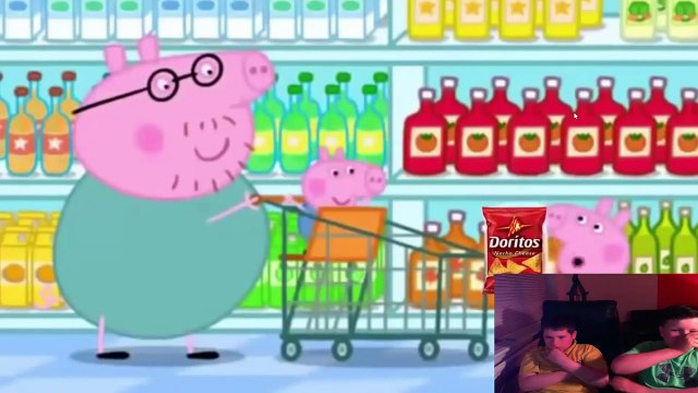 MLG peppa pig Goes shopping with bears reaction