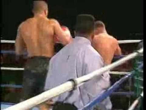 free fight Jerome Le Banner VS Shawn Johnson